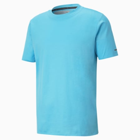 Porsche Design Men's Essential Tee, Ethereal Blue, small-SEA