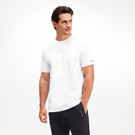 Porsche Design Graphic Men's Tee, Puma White, small-SEA