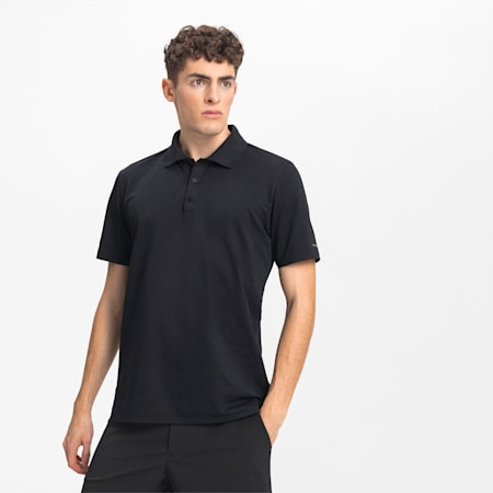 Polo Porsche Design pour homme, Jet Black, small