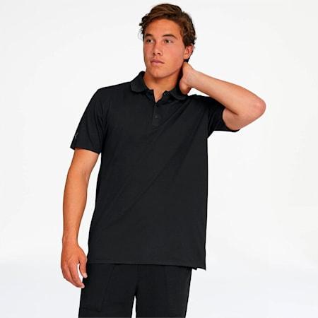 Porsche Design Men's Polo, Jet Black, small
