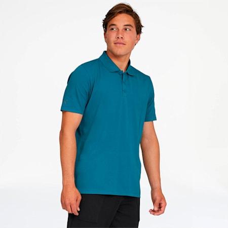 Porsche Design Men's Polo, Moroccan Blue, small