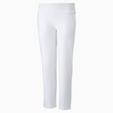 Girls' Golf Pants, Bright White, small