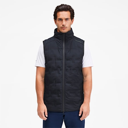 Porsche Design Men's Padded Vest, Navy Blazer, small