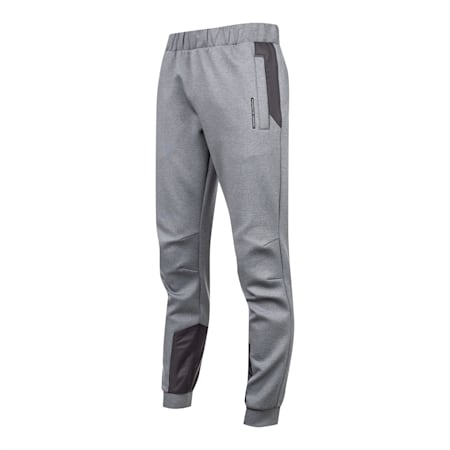 Porsche Design Spacer Men's Sweatpants, Medium Gray Heather, small-SEA