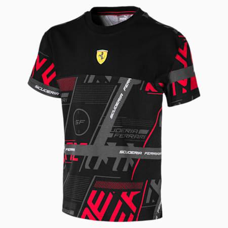 Ferrari Street Kids' Tee, Puma Black, small-SEA
