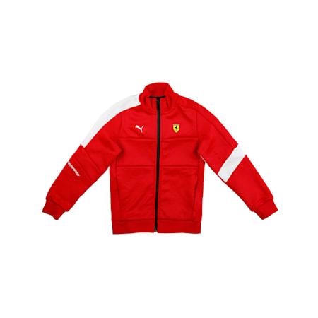 Ferrari Kids' Track Jacket, Rosso Corsa, small-IND