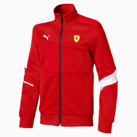 Ferrari Kids' Track Jacket, Rosso Corsa, small-SEA