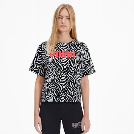 PUMA x SOPHIA WEBSTER ウィメンズ AOP Tシャツ, Puma White, small-JPN