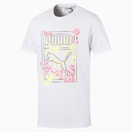 Brand Carrier 1 Graphic Men's Tee, Puma White, small-SEA