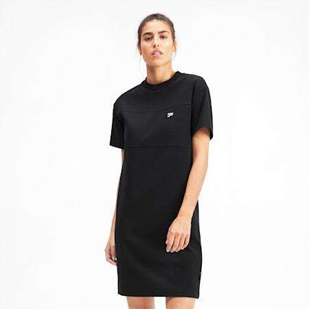 Downtown Women's Dress, Puma Black, small-SEA