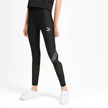 luXTG Women's Leggings, Puma Black-Puma White, small