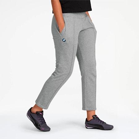 BMW M Motorsport Women's Sweatpants, Medium Gray Heather, small