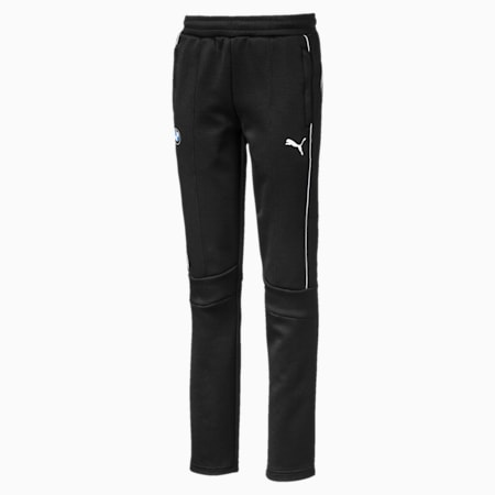 BMW M Motorsport Boys' T7 Track Pants JR, Puma Black, small