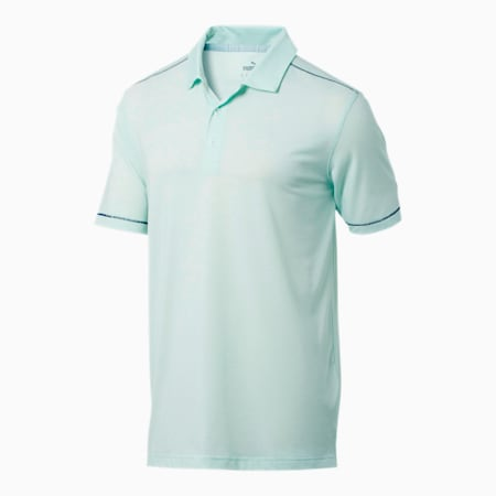 Rancho Men's Polo, Mist Green Heather, small