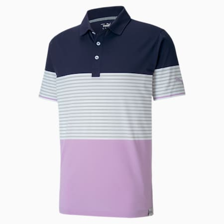 Cloudspun Taylor Men's Polo, Lupine, small