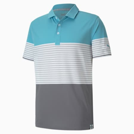 Cloudspun Taylor Polo, Milky Blue, small-IND