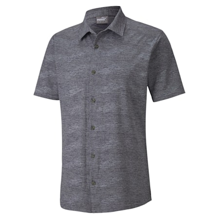 Easy Living Shirt, Peacoat Heather, small-IND