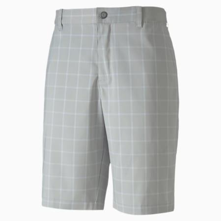 Plaid Men's Golf Shorts, Quarry, small