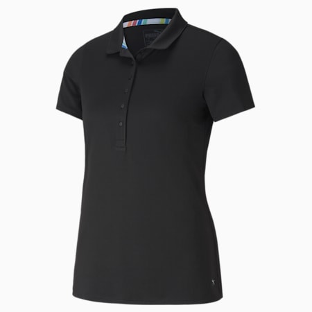 Rotations Women's Polo Shirt, Puma Black, small