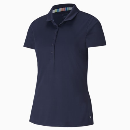 Rotations poloshirt voor dames, Peacoat, small