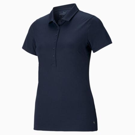 Rotations Women's Polo Shirt, Navy Blazer, small-GBR