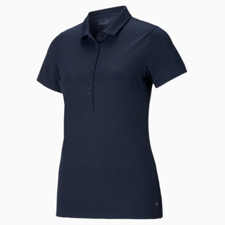 Rotations Women's Polo Shirt, Navy Blazer, small-SEA