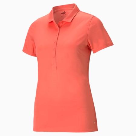 Damska koszulka polo Rotations, Georgia Peach, small