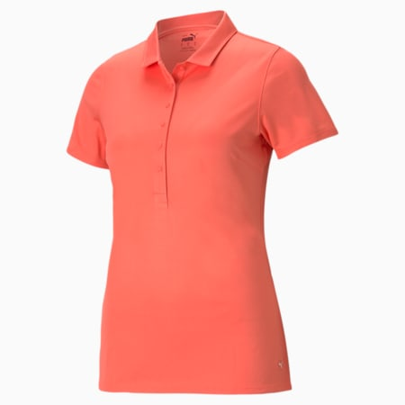 Rotations Women's Polo Shirt, Georgia Peach, small-GBR