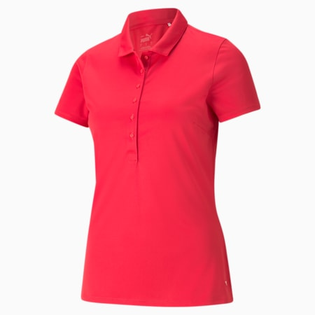 Rotations Women's Polo Shirt, Teaberry, small-GBR