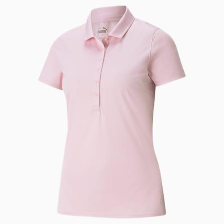 Damska koszulka polo Rotations, Parfait Pink, small