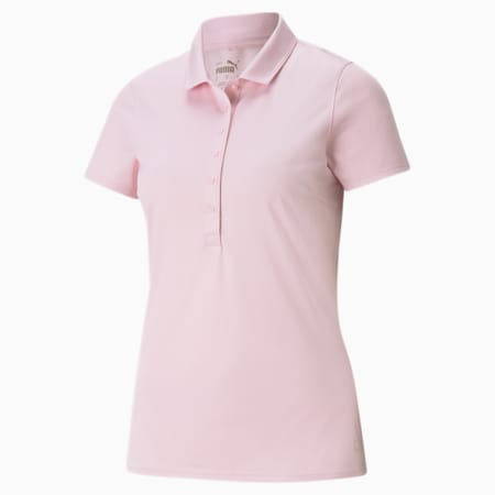 Rotations Women's Polo Shirt, Parfait Pink, small