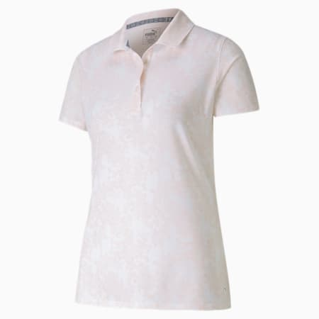 Roses Women's Golf Polo Shirt, Rosewater, small-SEA