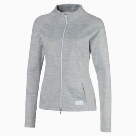 클라우드 스펀 웜업 자켓/Cloudspun W Warm Up Jacket, Quarry Heather, small-KOR