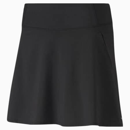 PWRSHAPE Solid Woven Women's Golf Skirt, Puma Black, small