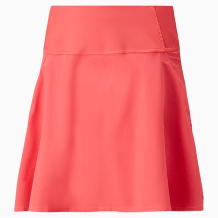 PWRSHAPE Solid Woven Women's Golf Skirt, Teaberry, small-GBR
