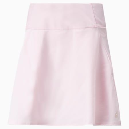 PWRSHAPE Solid Woven Women's Golf Skirt, Parfait Pink, small