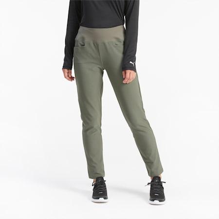 PWRSHAPE Women's Golf Pants, Thyme, small