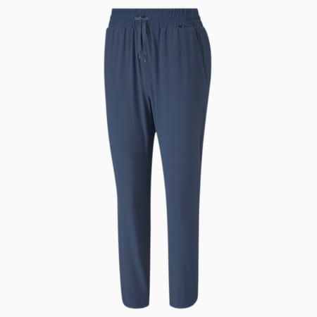 Lightweight 7/8 Women's Golf Pants, Dark Denim, small-SEA