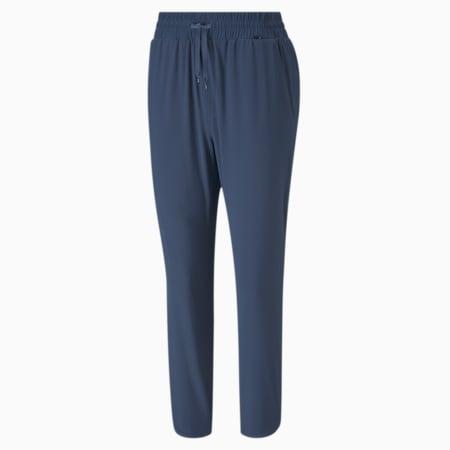 Lightweight 7/8 Women's Golf Pants, Dark Denim, small-SEA