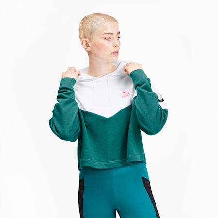 プーマ XTG ウィメンズ フーディー, Teal Green, small-JPN