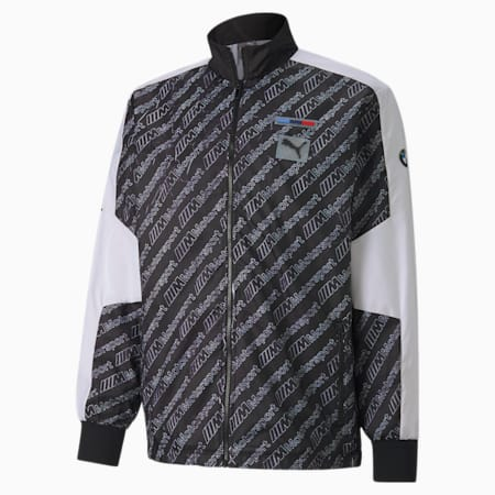BMW M Motorsport Street Men's Jacket, Puma Black, small-SEA