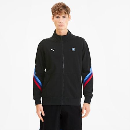 BMW M Motorsport Life Men's Sweat Jacket, Puma Black, small