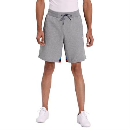 BMW MMS Life Sweat Shorts, Medium Gray Heather, small-IND