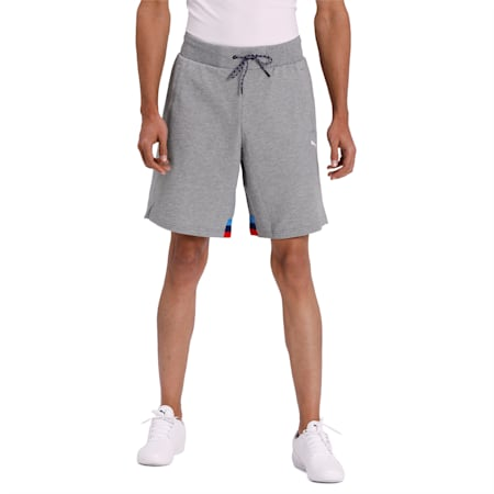 BMW Motorsport Life Sweat Shorts, Medium Gray Heather, small-IND