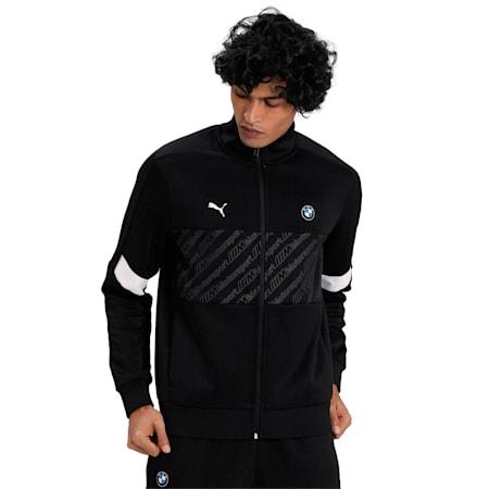 BMW M Motorsport T7 Track Jacket, Puma Black, small-IND