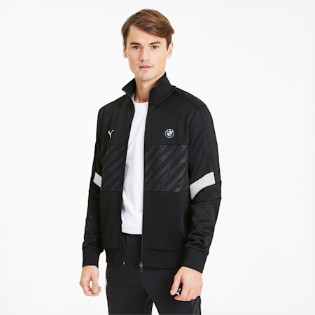 BMW M Motorsport Men's Track Jacket, Puma Black, small-SEA