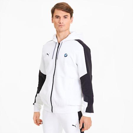Chaqueta de deporte con capucha para hombre BMW M Motorsport, Puma White, small