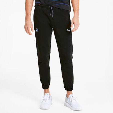 BMW M Motorsport Men's Sweatpants, Puma Black, small-SEA
