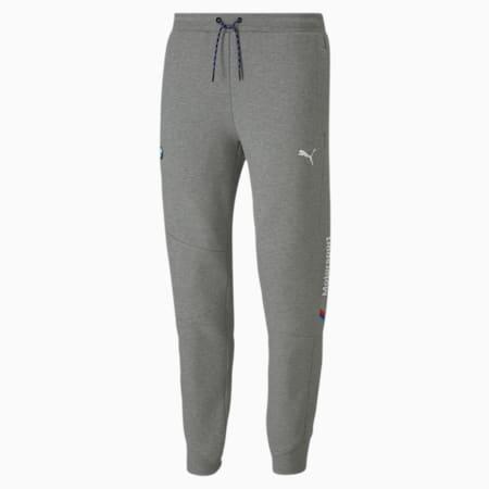 BMW M Motorsport Men's Sweatpants, Medium Gray Heather, small