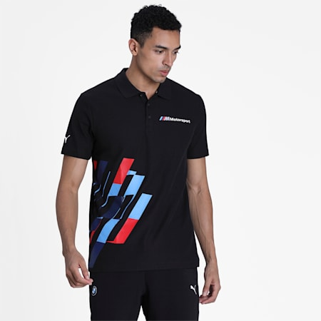 BMW M Motorsport Graphic Polo, Puma Black, small-IND